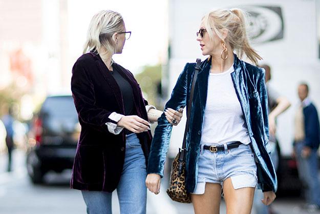 Что носят на Неделе моды в Нью-Йорке: 7 часть (фото 6)