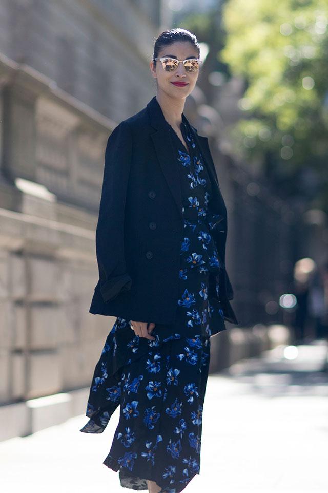 Что носят на Неделе моды в Нью-Йорке: 4 часть (фото 1)