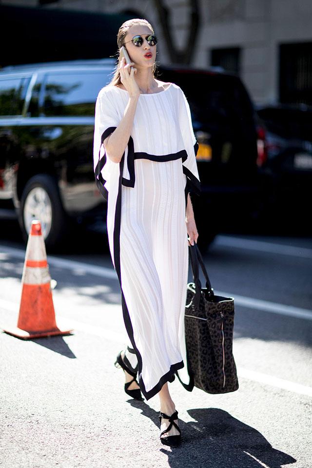 Что носят на Неделе моды в Нью-Йорке: 4 часть (фото 28)
