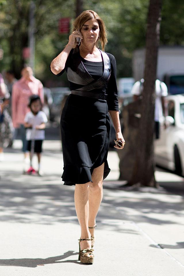 Что носят на Неделе моды в Нью-Йорке: 4 часть (фото 4)