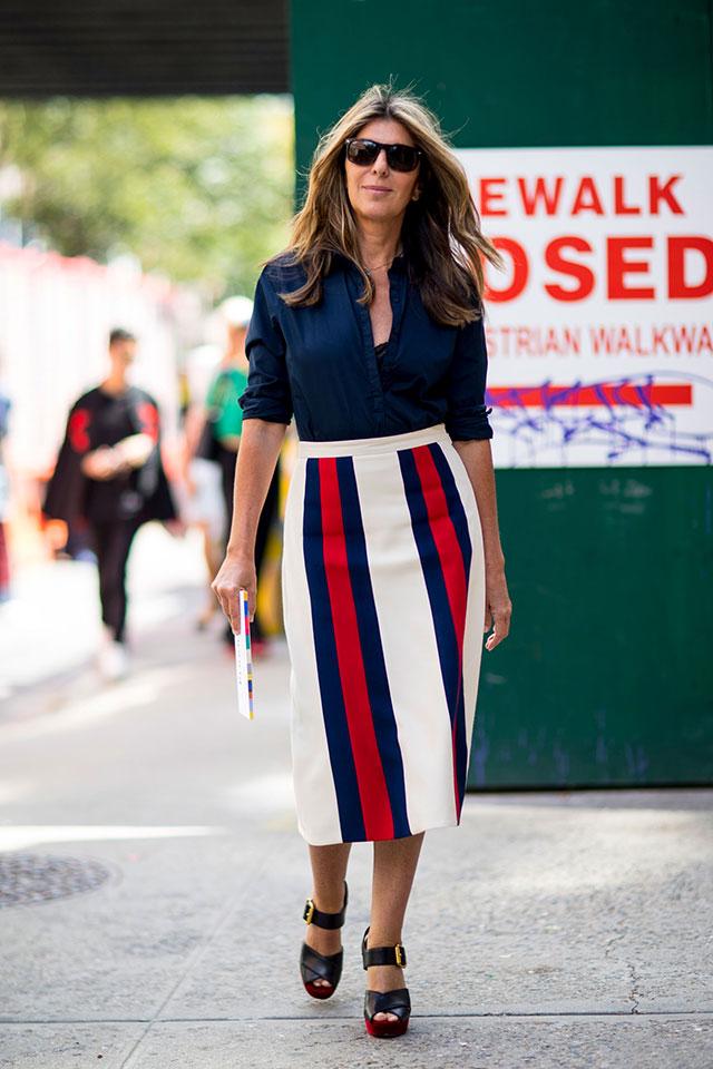 Что носят на Неделе моды в Нью-Йорке: 4 часть (фото 27)