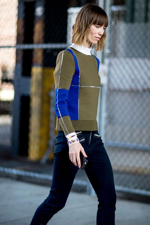Что носят на Неделе моды в Нью-Йорке: 4 часть (фото 8)