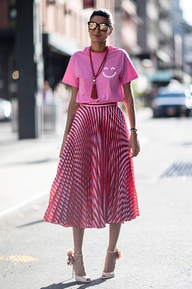 Что носят на Неделе моды в Нью-Йорке: 5 часть (фото 13)