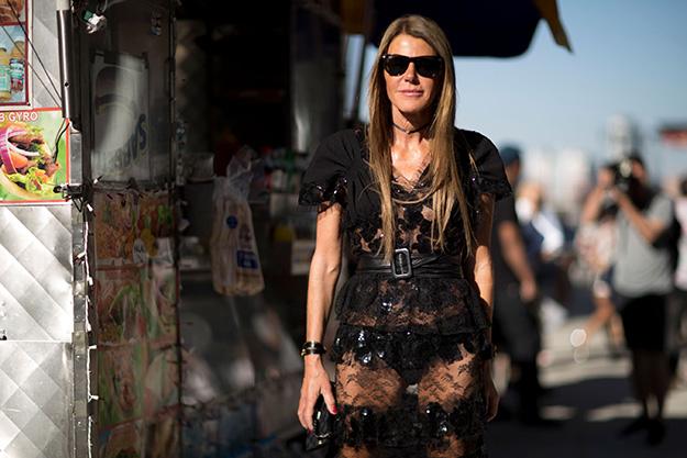 Что носят на Неделе моды в Нью-Йорке: 5 часть (фото 7)