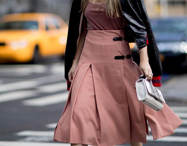 Что носят на Неделе моды в Нью-Йорке: 1 часть (фото 19)