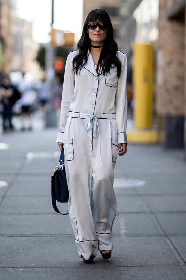 Что носят на Неделе моды в Нью-Йорке: 1 часть (фото 5)