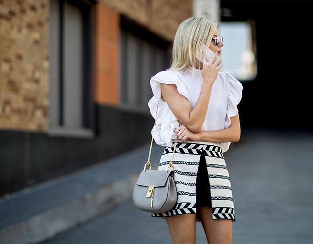Что носят на Неделе моды в Нью-Йорке: 1 часть (фото 8)