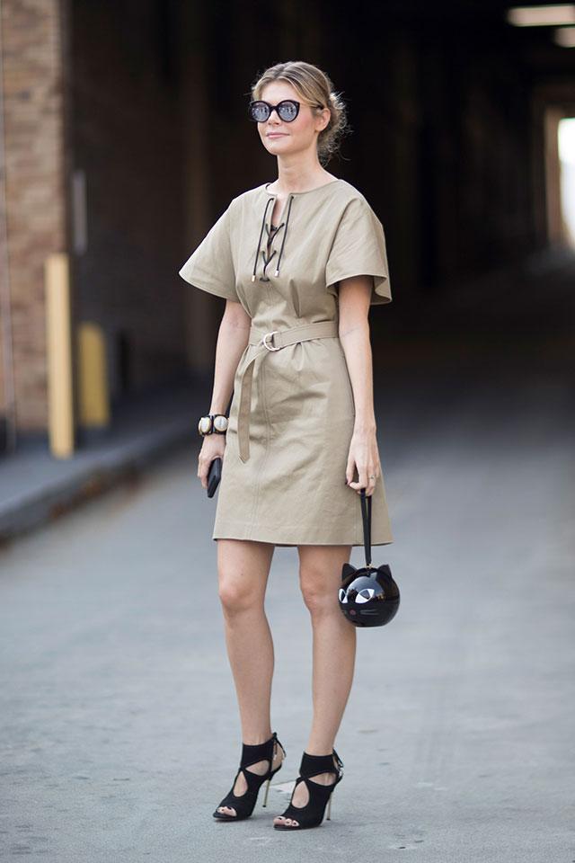 Что носят на Неделе моды в Нью-Йорке: 1 часть (фото 18)