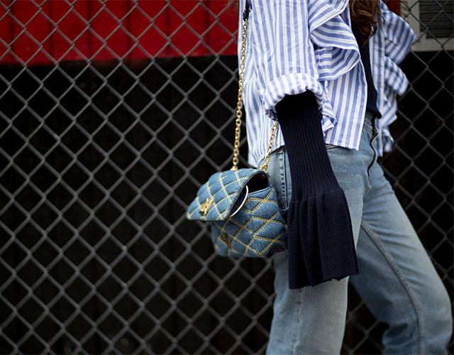 Что носят на Неделе моды в Нью-Йорке: 1 часть (фото 4)