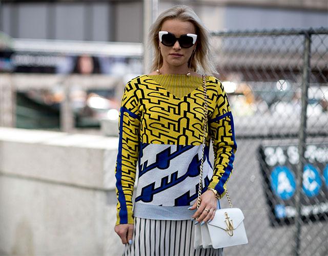 Что носят на Неделе моды в Нью-Йорке: 1 часть (фото 17)