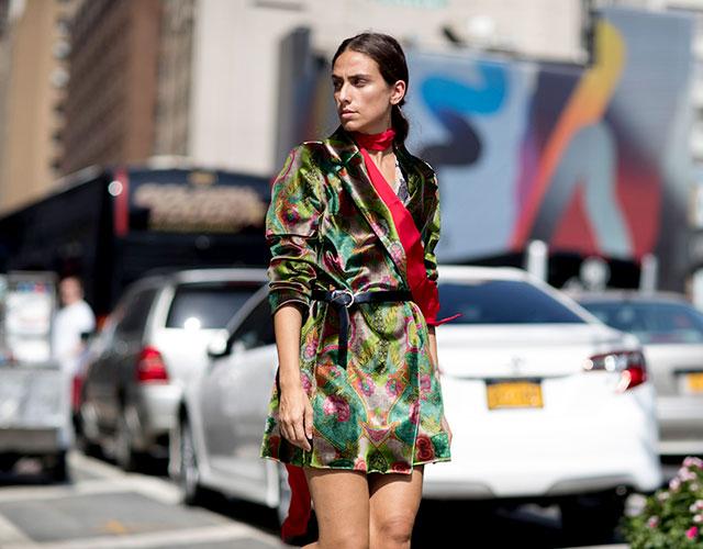 Что носят на Неделе моды в Нью-Йорке: 1 часть (фото 9)