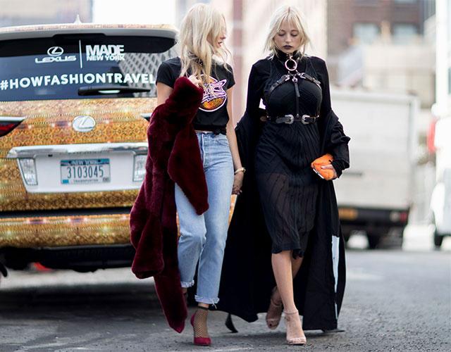 Что носят на Неделе моды в Нью-Йорке: 1 часть (фото 12)