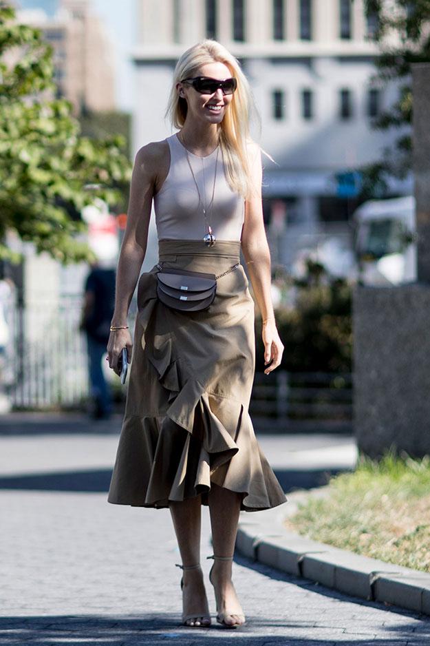Что носят на Неделе моды в Нью-Йорке: 6 часть (фото 26)