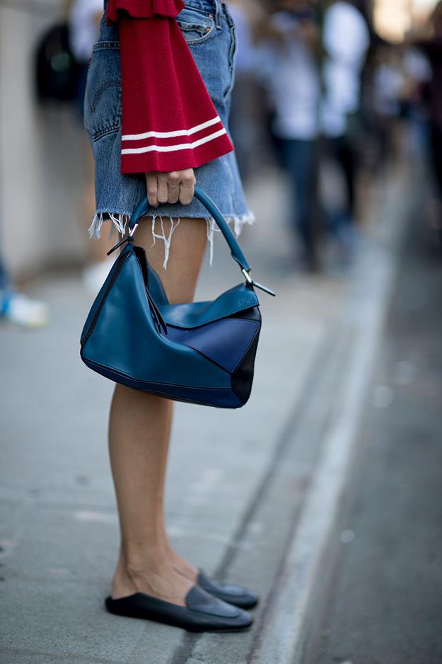 Что носят на Неделе моды в Нью-Йорке: 6 часть (фото 27)