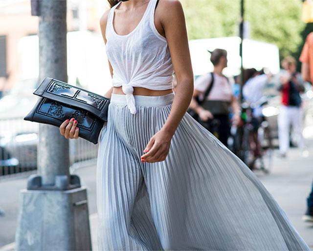 Что носят на Неделе моды в Нью-Йорке: 4 часть (фото 21)
