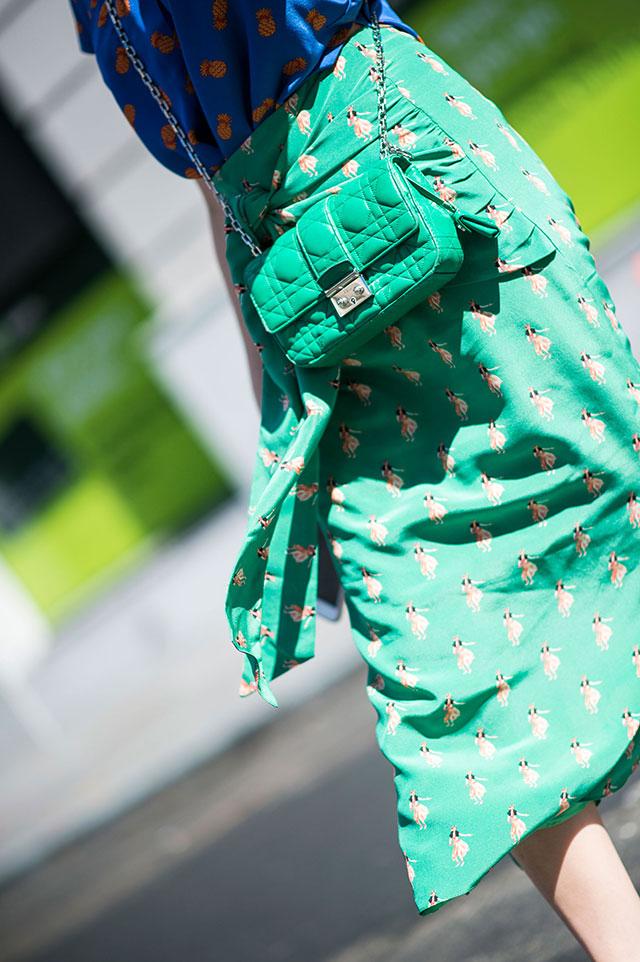 Что носят на Неделе моды в Нью-Йорке: 4 часть (фото 17)