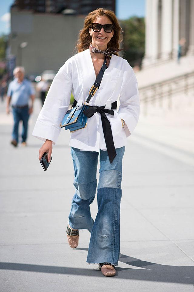 Что носят на Неделе моды в Нью-Йорке: 4 часть (фото 20)