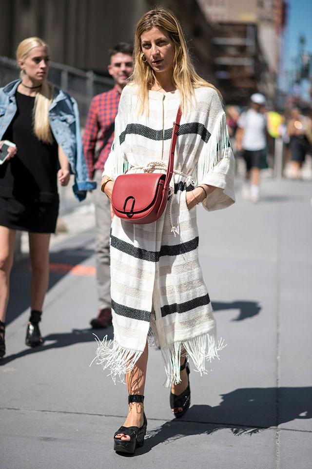 Что носят на Неделе моды в Нью-Йорке: 4 часть (фото 16)