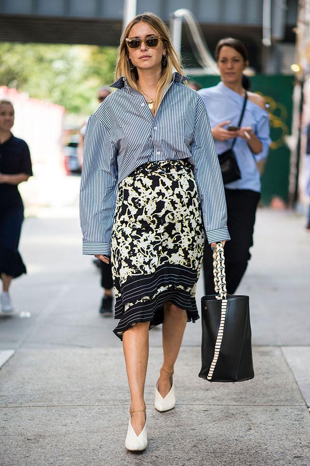 Что носят на Неделе моды в Нью-Йорке: 4 часть (фото 13)