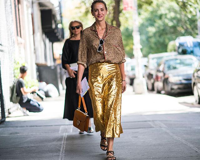 Что носят на Неделе моды в Нью-Йорке: 4 часть (фото 26)