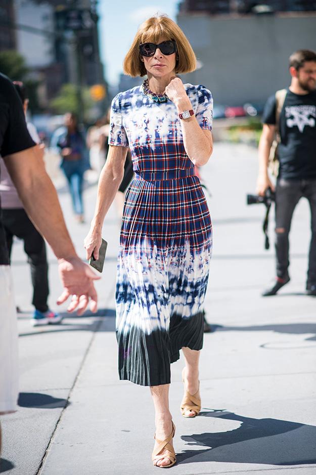 Что носят на Неделе моды в Нью-Йорке: 5 часть (фото 1)