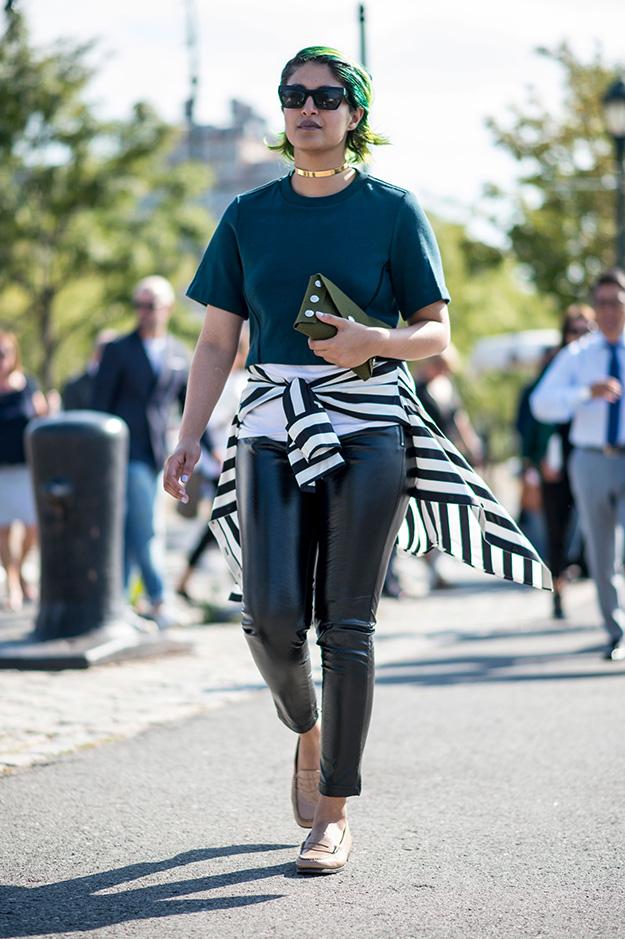 Что носят на Неделе моды в Нью-Йорке: 5 часть (фото 11)