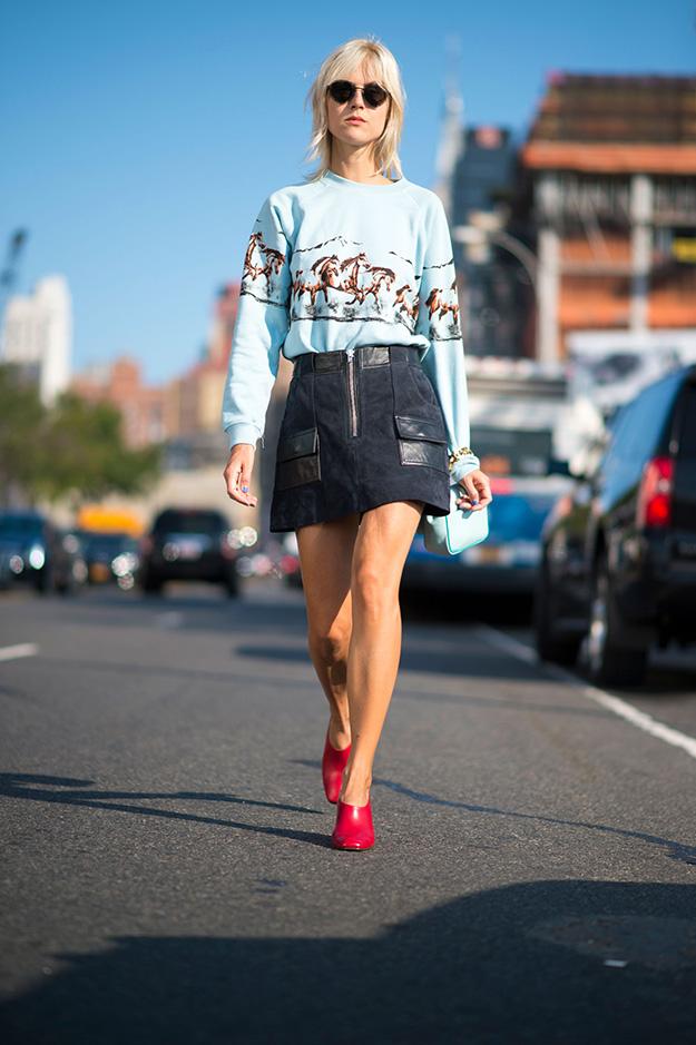 Что носят на Неделе моды в Нью-Йорке: 5 часть (фото 4)