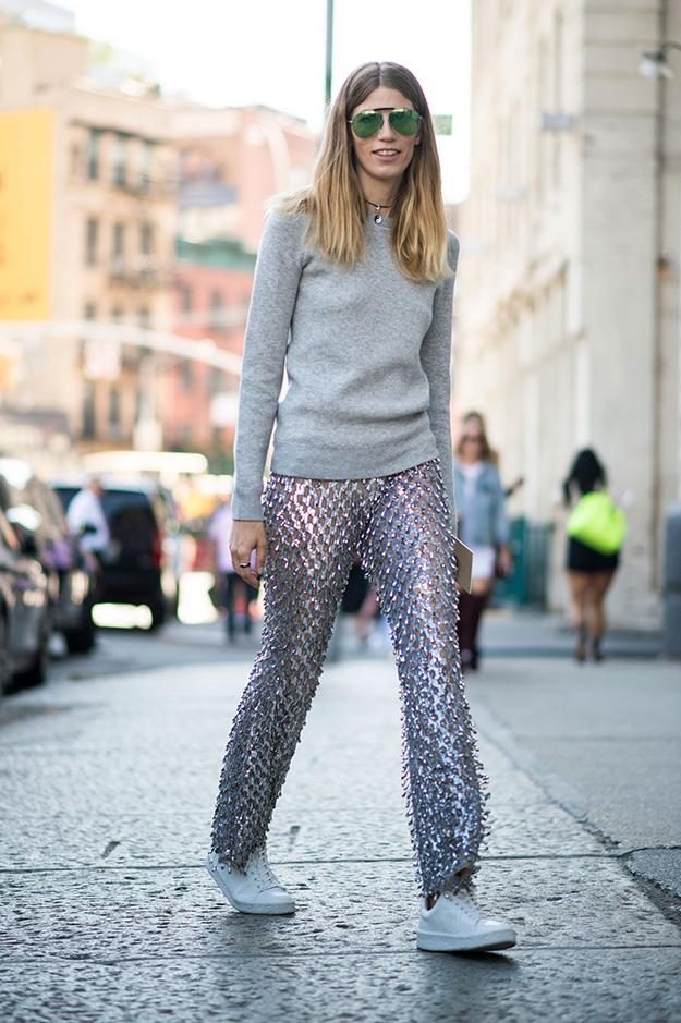 Что носят на Неделе моды в Нью-Йорке: 6 часть (фото 1)