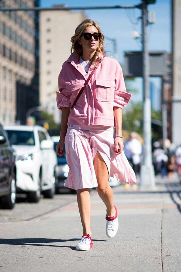Что носят на Неделе моды в Нью-Йорке: 6 часть (фото 24)