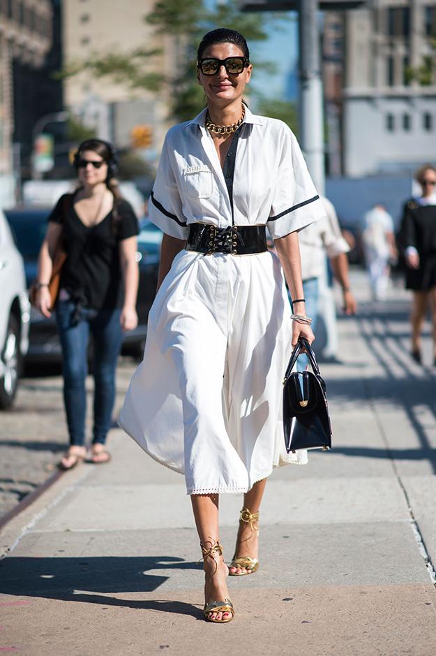 Что носят на Неделе моды в Нью-Йорке: 6 часть (фото 3)