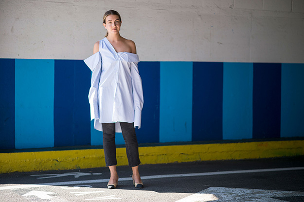 Что носят на Неделе моды в Нью-Йорке: 6 часть (фото 25)
