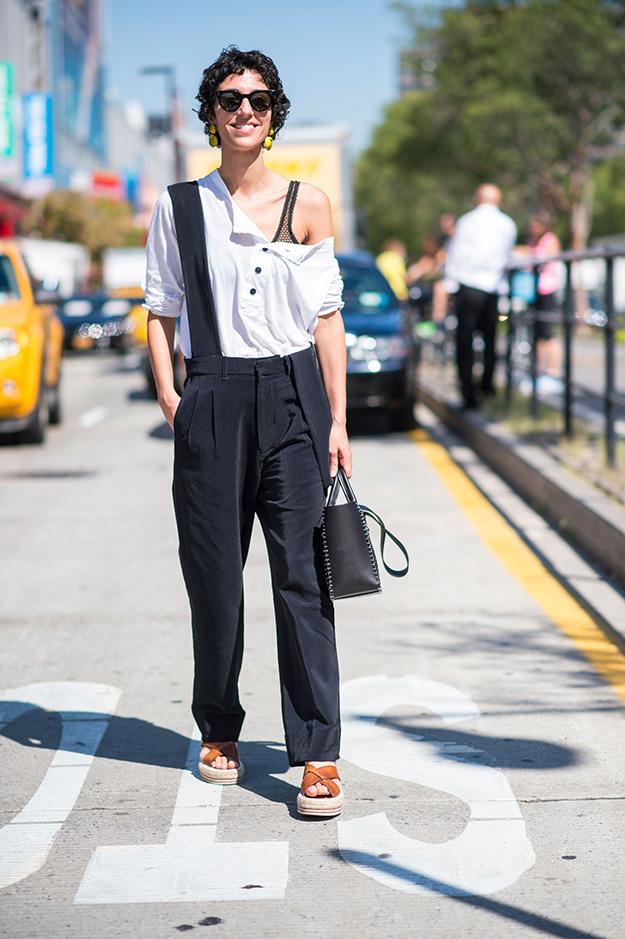 Что носят на Неделе моды в Нью-Йорке: 6 часть (фото 12)