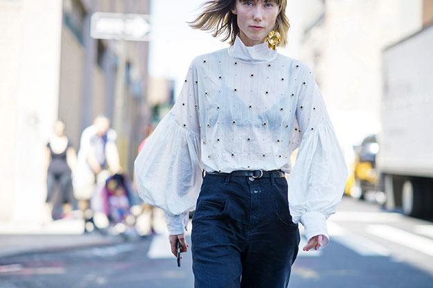 Что носят на Неделе моды в Нью-Йорке: 6 часть (фото 2)