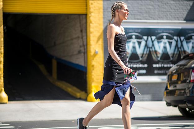 Что носят на Неделе моды в Нью-Йорке: 6 часть (фото 19)