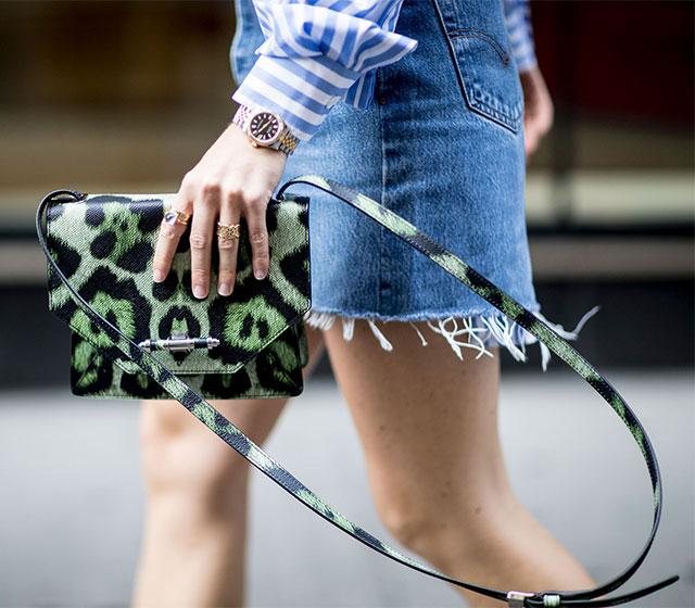 Что носят на Неделе моды в Нью-Йорке: 3 часть (фото 9)