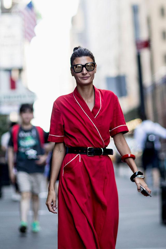 Что носят на Неделе моды в Нью-Йорке: 3 часть (фото 1)