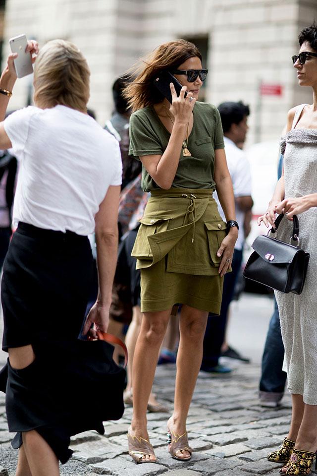 Что носят на Неделе моды в Нью-Йорке: 3 часть (фото 10)