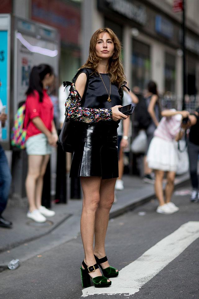 Что носят на Неделе моды в Нью-Йорке: 3 часть (фото 8)