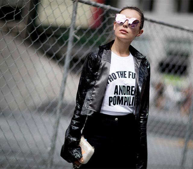 Что носят на Неделе моды в Нью-Йорке: 3 часть (фото 12)