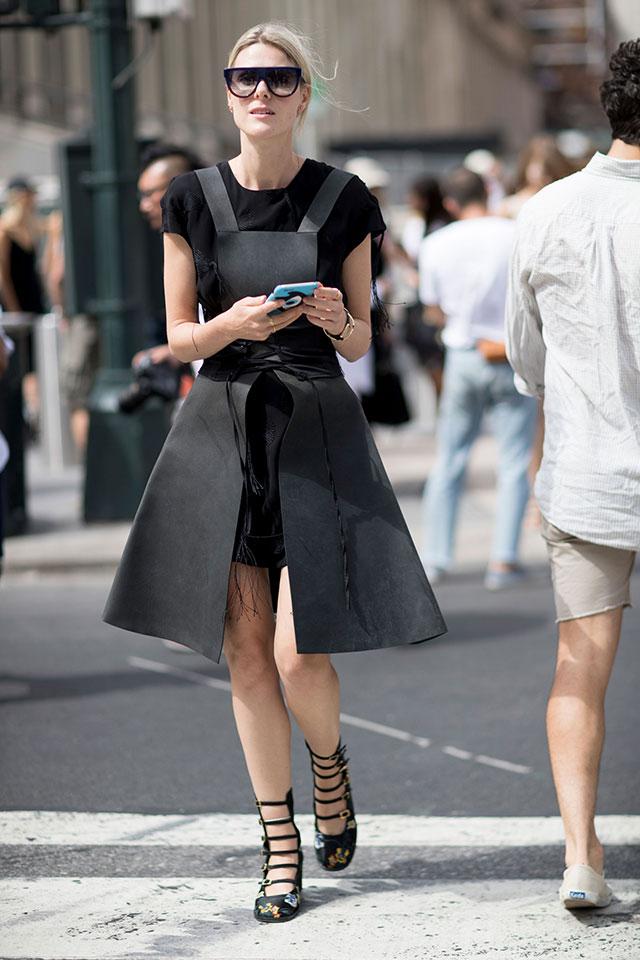 Что носят на Неделе моды в Нью-Йорке: 3 часть (фото 14)