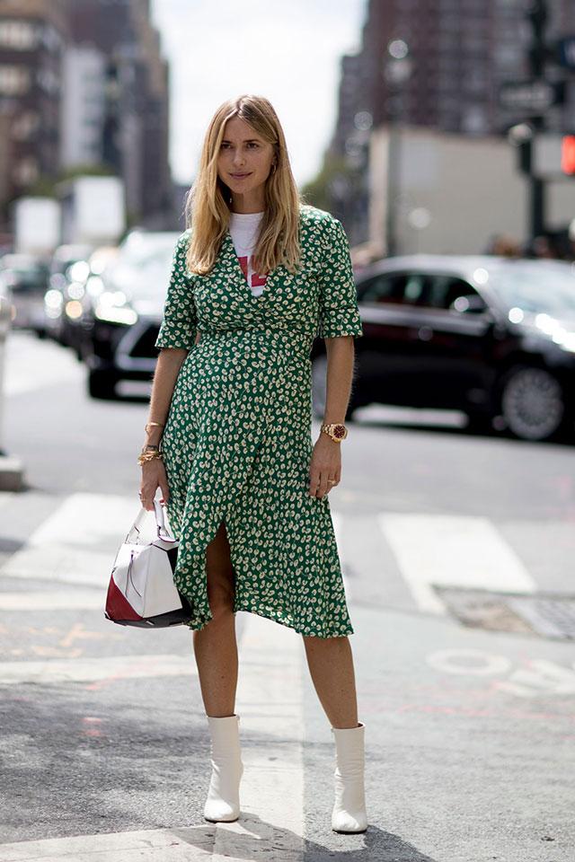 Что носят на Неделе моды в Нью-Йорке: 3 часть (фото 5)