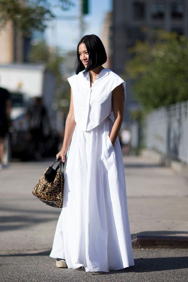 Что носят на Неделе моды в Нью-Йорке: 3 часть (фото 13)
