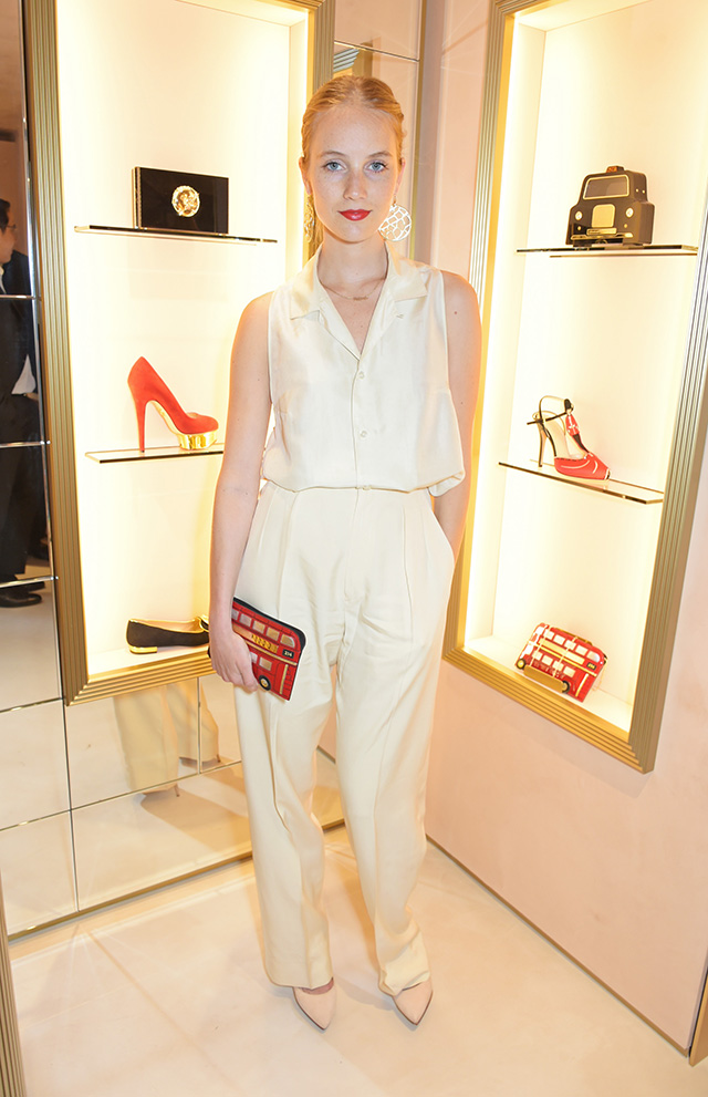 Вечеринка в честь открытия бутика Charlotte Olympia в Лондоне (фото 4)