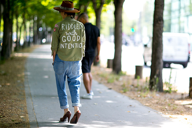 Неделя мужской моды в Париже, весна-лето 2016: street style. Часть 1 (фото 21)