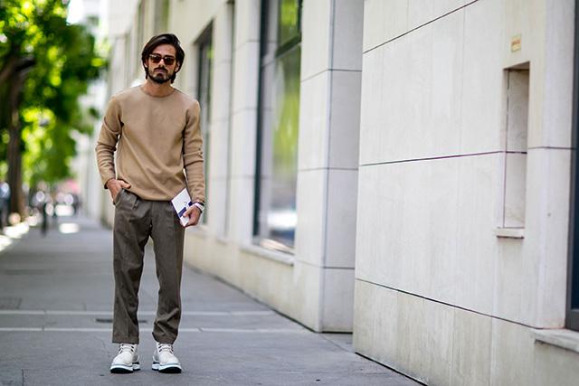 Неделя мужской моды в Париже, весна-лето 2016: street style. Часть 1 (фото 11)