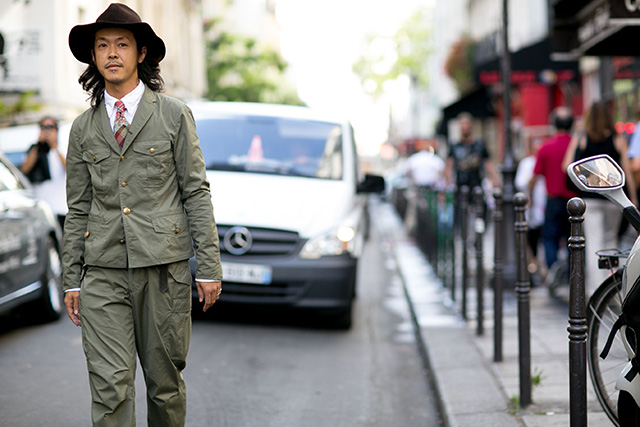 Неделя мужской моды в Париже, весна-лето 2016: street style. Часть 1 (фото 20)