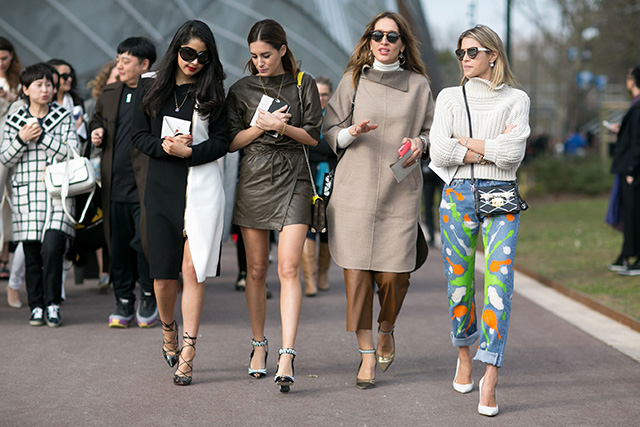 Paris Fashion Week A / I 2015: street style.  Part 7 (24 foto)