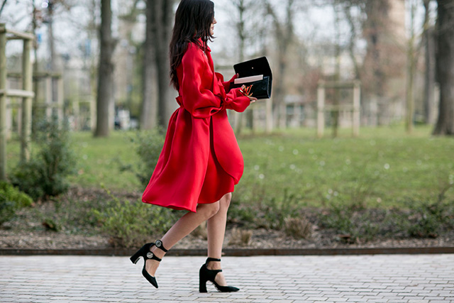Paris Fashion Week A / I 2015: street style.  Part 7 (18 foto)