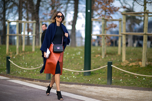 Paris Fashion Week A / I 2015: street style.  Part 7 (16 foto)
