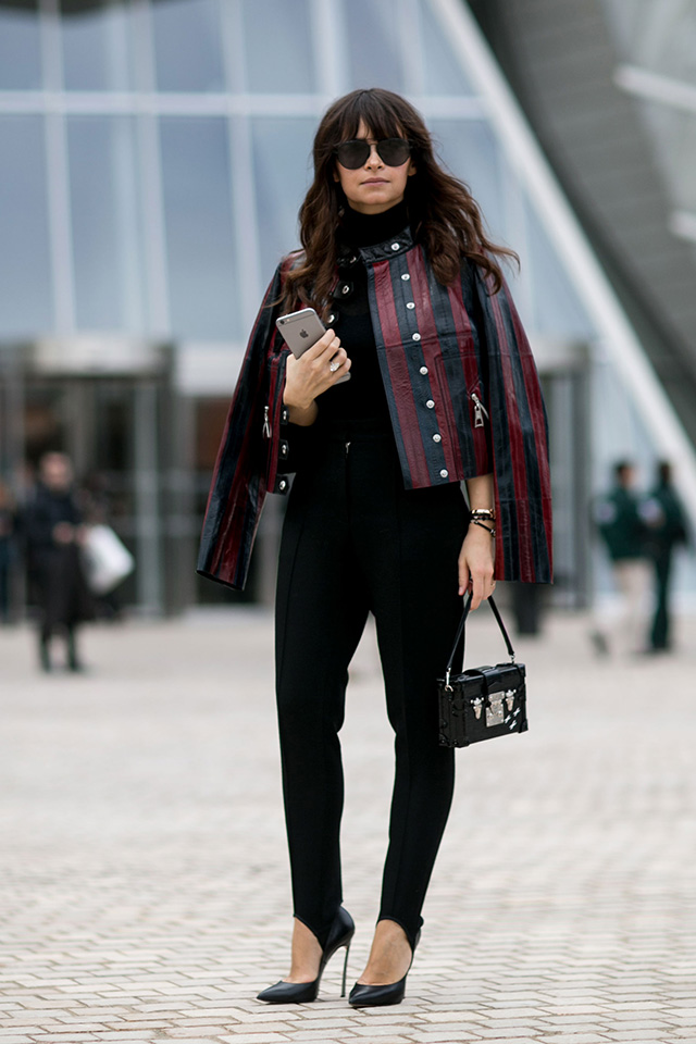 Paris Fashion Week A / I 2015: street style.  Part 7 (3 foto)